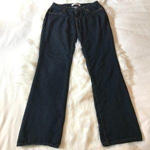 No Boundaries Bootcut Dark Wash Jeans, Sz 7